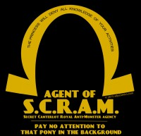 Agent of S.C.R.A.M.