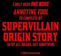 Supervillain Warning