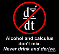 Never Drink and Derive
