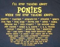 Talking Ponies